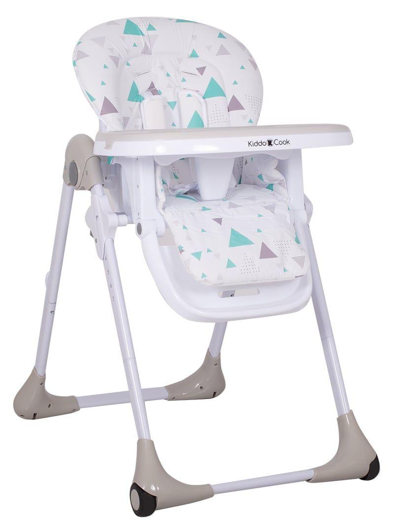 Καρέκλα Φαγητού Kiddo Cook Grey Triangle 01
