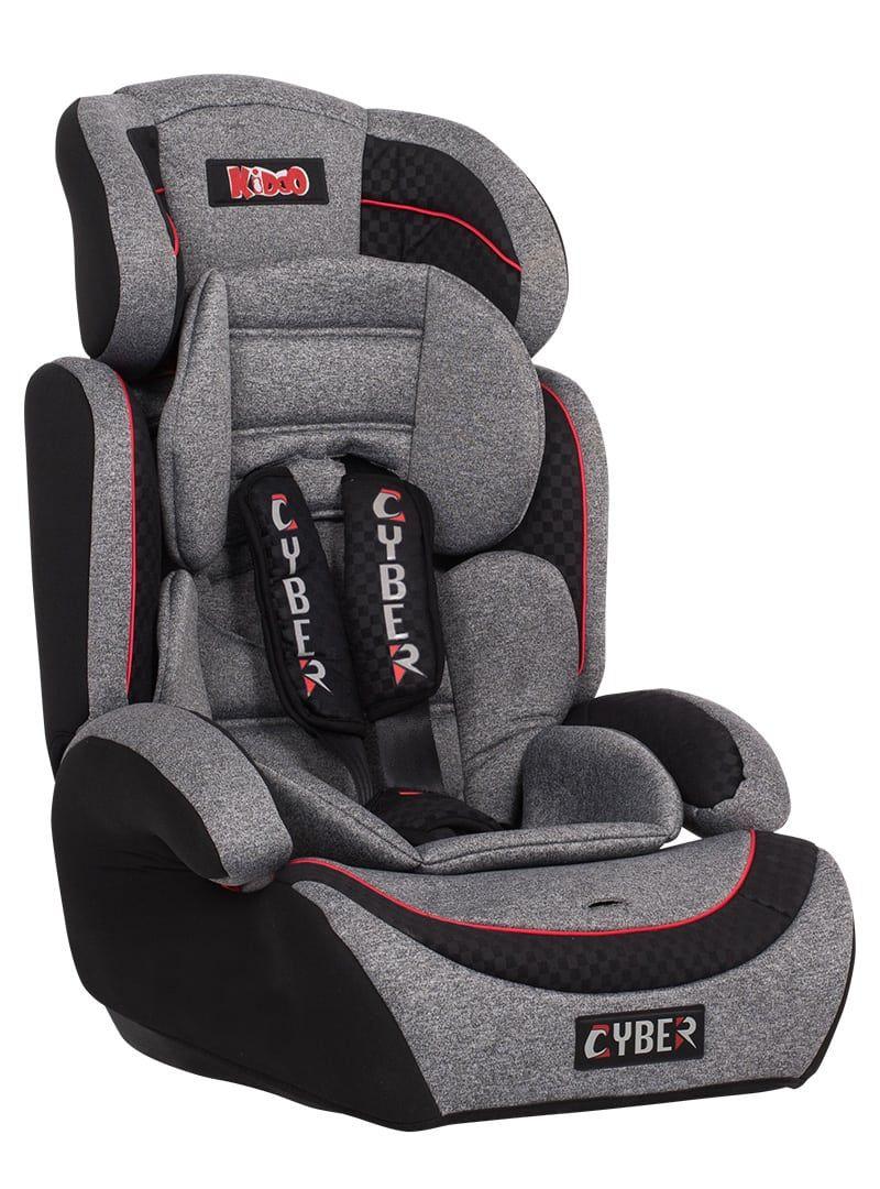 Κάθισμα Aσφαλείας Aυτοκινήτου Kiddo Cyber Earth Stone Γκρι 01