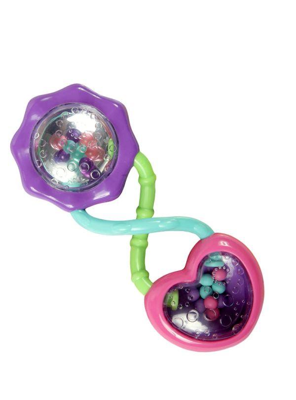 Κουδουνίστρα Bright Starts Rattle and Shake Barbell™ Rattle Toy 01