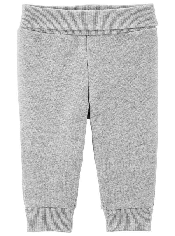 Carter's Παντελόνι Γκρι με Επένδυση Fleece