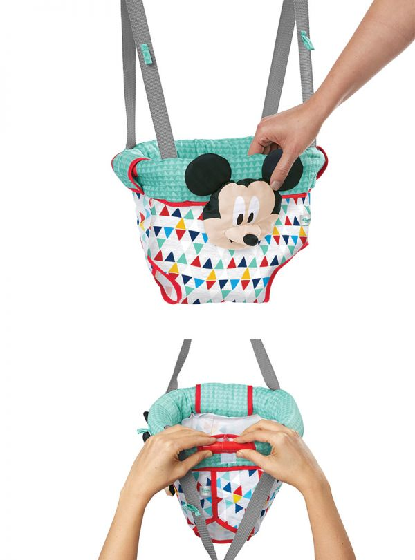 Disney Baby MICKEY MOUSE Happy Triangles Door Jumper™ 05