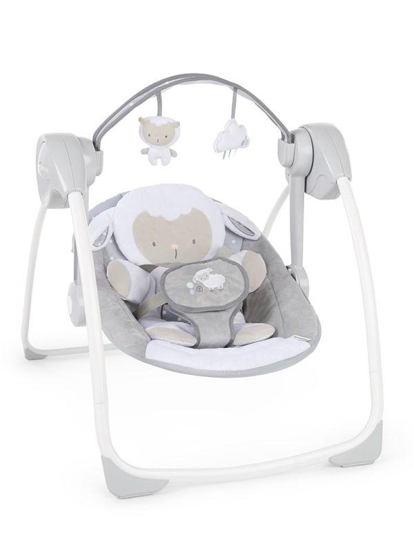 Ingenuity Κούνια Comfort 2 Go Portable Swing™ - Cuddle Lamb 01