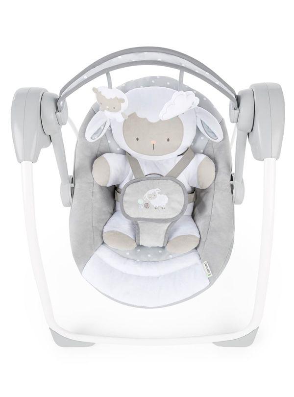 Ingenuity Κούνια Comfort 2 Go Portable Swing™ - Cuddle Lamb 02