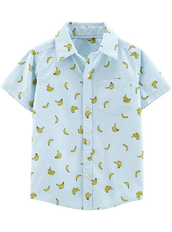Carter's πουκάμισο με σχέδιο μπανάνα