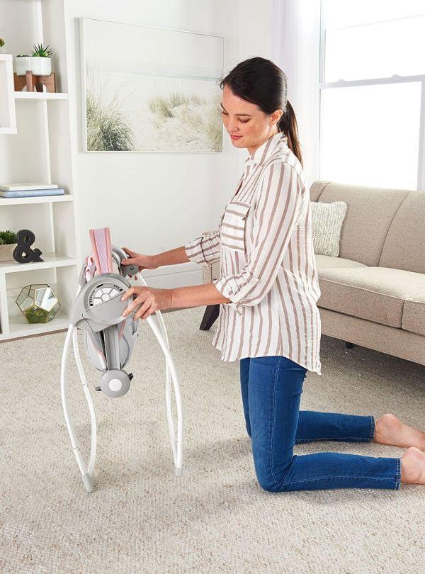 Ingenuity Κούνια Comfort 2 Go Portable Swing™ - Flora the Unicorn™ 05