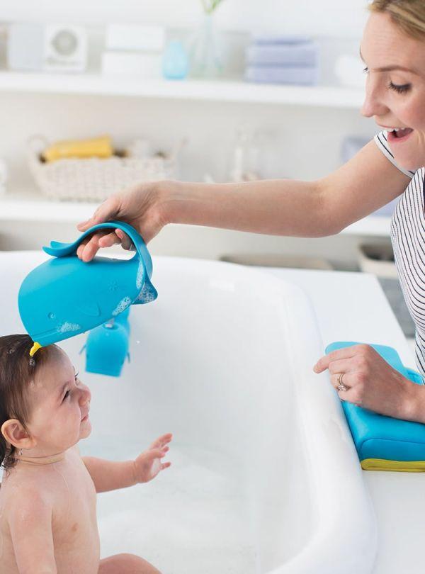 Αξεσουάρ μπάνιου skip hop Moby Waterfall Bath Rinser μπλε 02