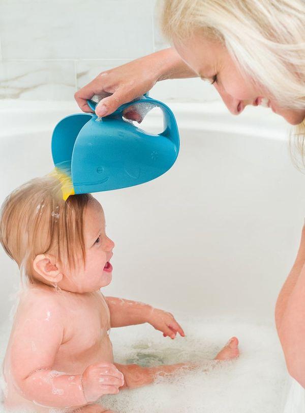 Αξεσουάρ μπάνιου skip hop Moby Waterfall Bath Rinser μπλε 07