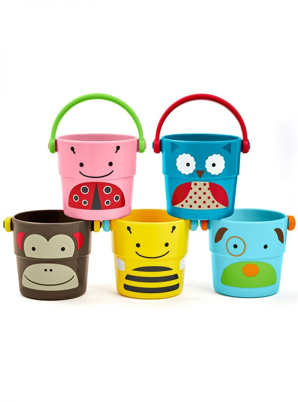 Skip Hop Zoo Stack and Pour Κουβαδάκια Σετ 5 τμχ