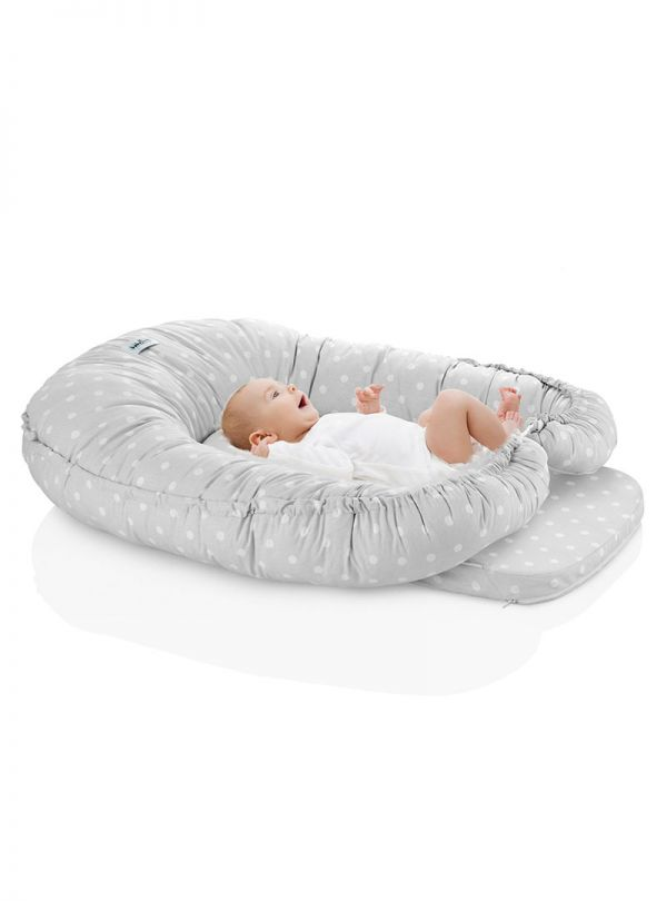 Baby Jem Μαξιλάρι Πολλαπλών Χρήσεων Γκρι 02