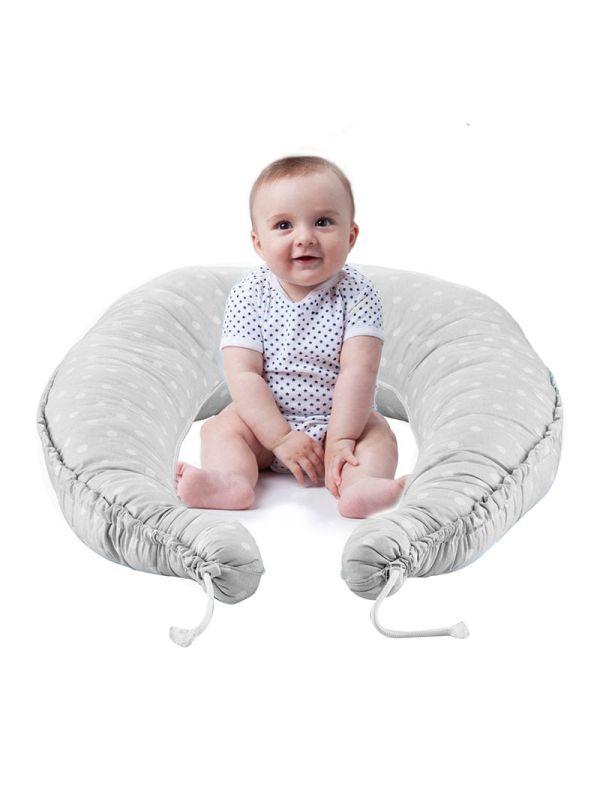 Baby Jem Μαξιλάρι Πολλαπλών Χρήσεων Γκρι 03
