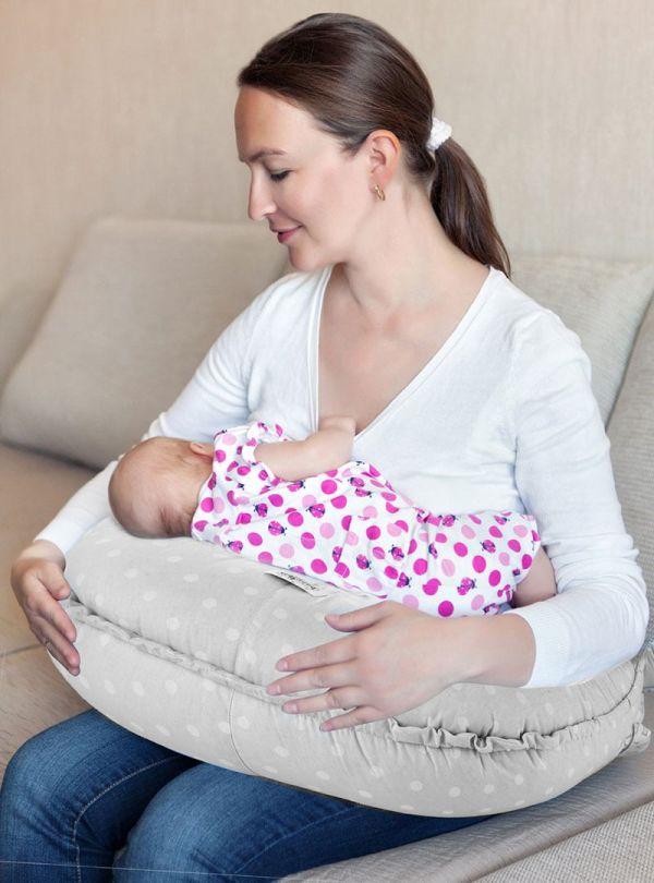 Baby Jem Μαξιλάρι Πολλαπλών Χρήσεων Γκρι 04