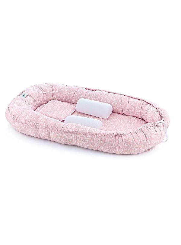 Baby Jem Φωλιά Μωρού Ροζ