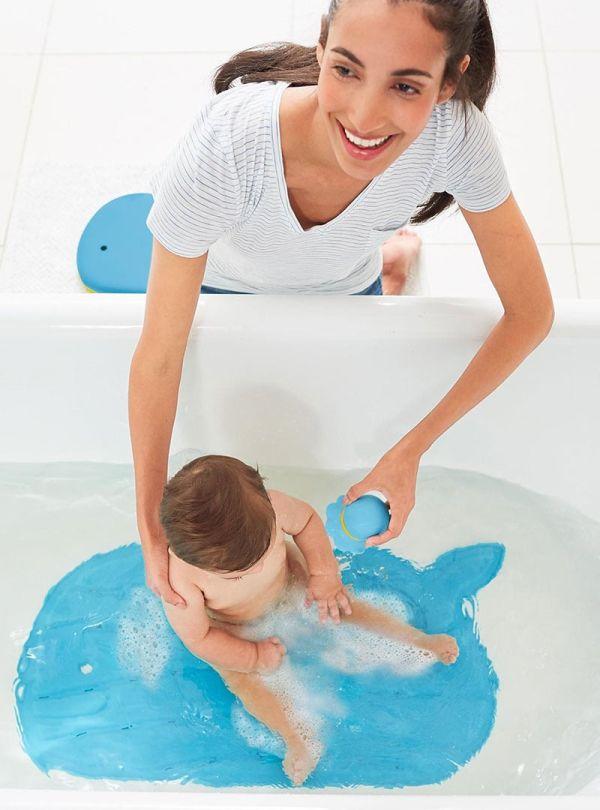 Αξεσουάρ Μπάνιου Skip Hop Moby Bath Mat Πατάκι Μπάνιου Μπλε 04