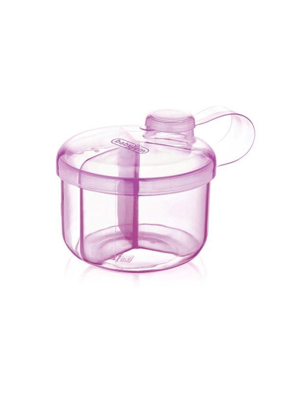 Baby Jem Δοχείο μεταφοράς σκόνης γάλακτος Ροζ 01
