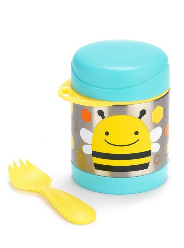 Δοχείο-θερμός τροφής skip hop zoo food jar μέλισσα 02