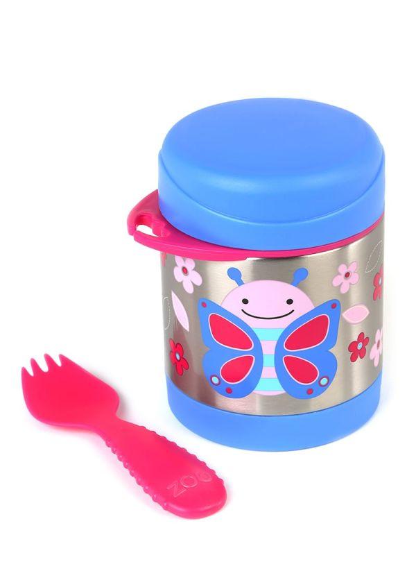 Δοχείο-θερμός τροφής skip hop zoo food jar πεταλούδα 02