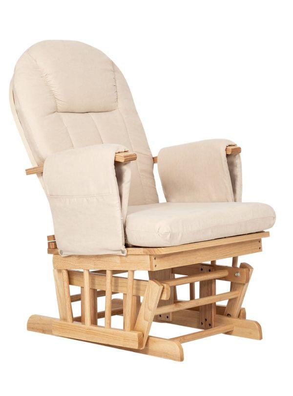 Kiddo Breast & Rest Καρέκλα Θηλασμού Μπεζ Με Ξύλινο Σκελετό 02