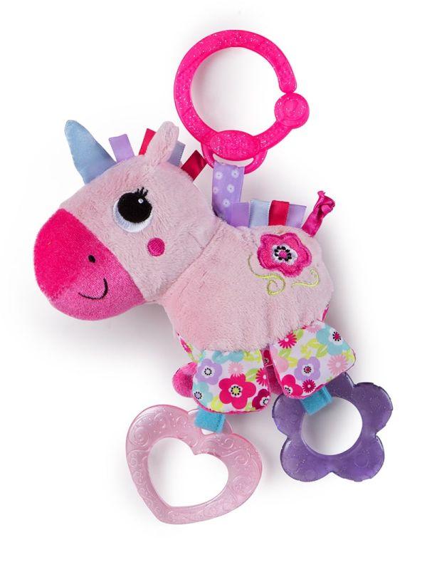 Bright Starts Μασητικό-Παιχνίδι Sparkle & Shine Unicorn™ On-the-Go Toy