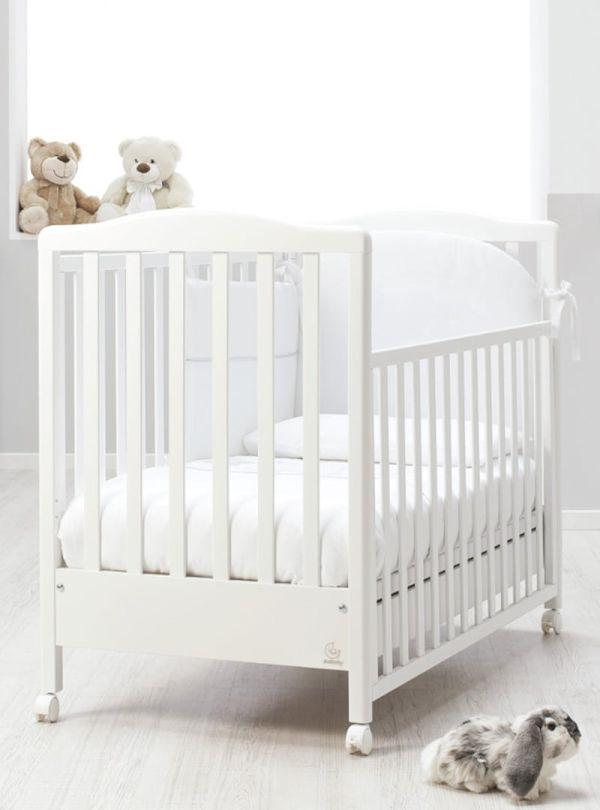 Italbaby Βρεφικό Κρεβάτι Flash Λευκό