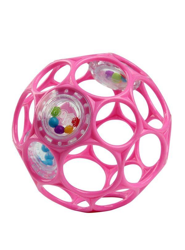 Oball Παιχνίδι Rattle™ Easy-Grasp Toy - Pink