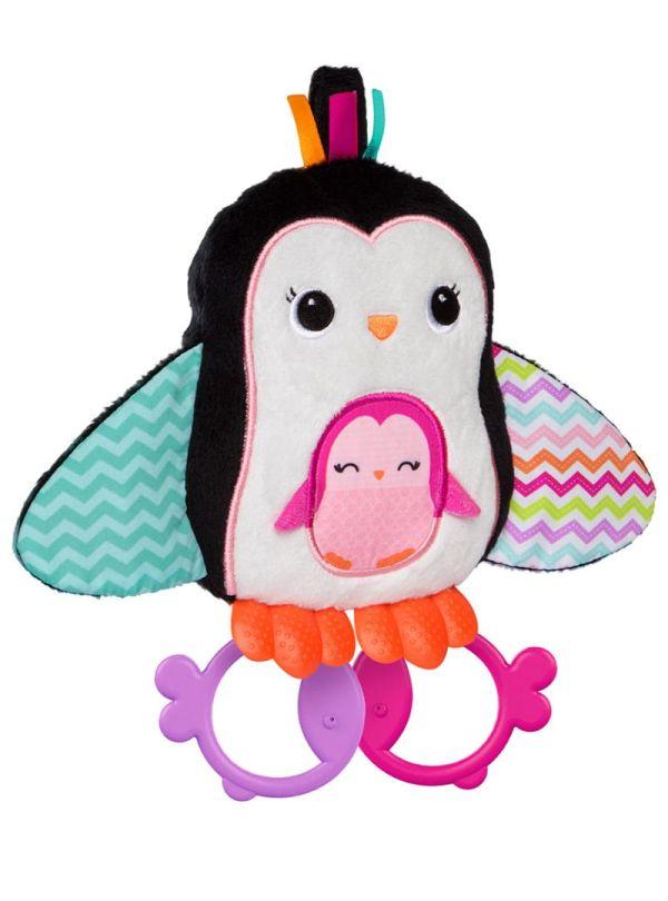 Παιχνίδι Bright Stars Cuddle Teeth Penguin Πιγκουίνος 01