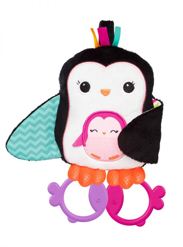 Παιχνίδι Bright Stars Cuddle Teeth Penguin Πιγκουίνος 02