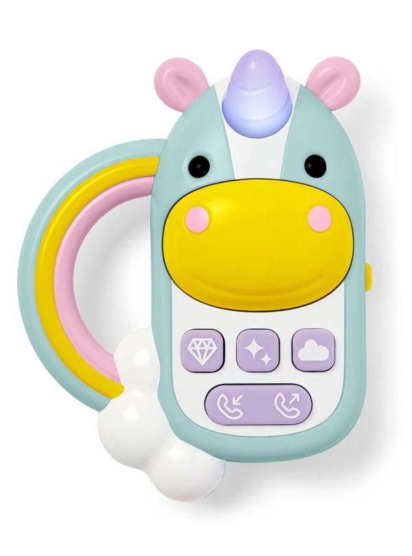 Παιχνίδι Skip Hop Zoo Unicorn Phone Μονόκερος 01
