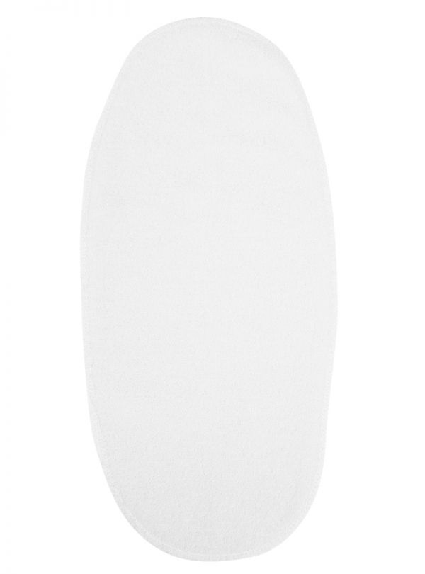 Figlio Bino Διπλή Λαβέτα Γλώσσα Λευκή 15x33 cm