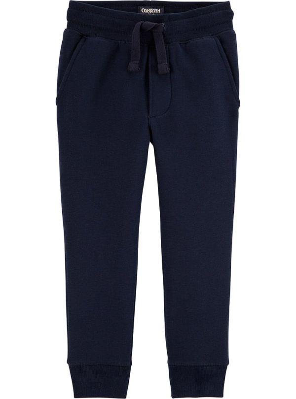 Oshkosh παντελόνι μπλε σκούρο φούτερ