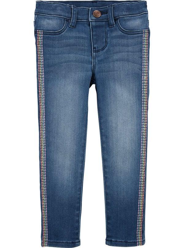 Oshkosh παντελόνι τζιν με πολύχρωμες ραφές