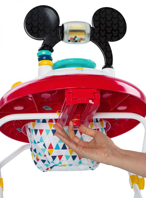Bright Starts Περπατούρα 11237 MICKEY MOUSE Happy Triangles Walker™ 04
