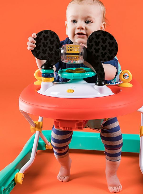Bright Starts Περπατούρα 11237 MICKEY MOUSE Happy Triangles Walker™ 07
