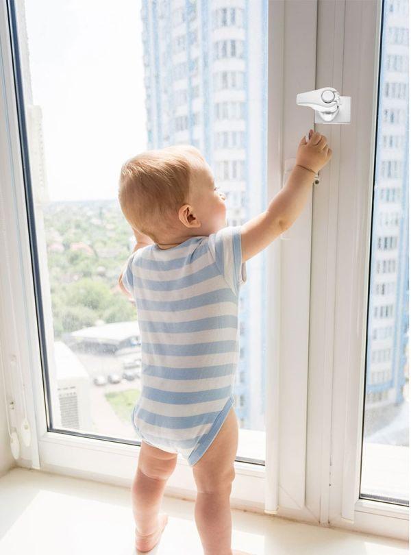 Baby Jem Προστατευτική Ασφάλεια Λευκό 02
