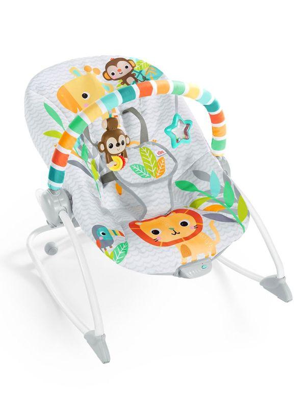 Ριλάξ Bright Starts Safari Blast Infant to Toddler Rocker™ 01