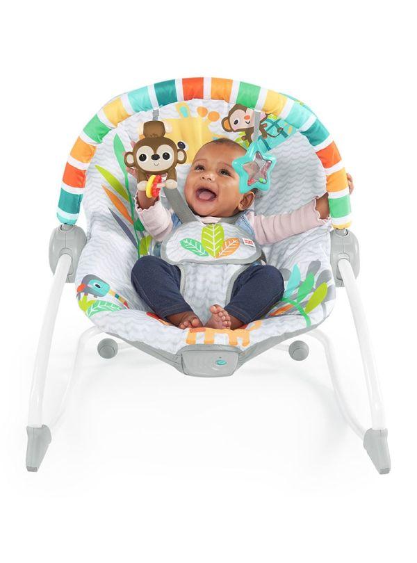 Ριλάξ Bright Starts Safari Blast Infant to Toddler Rocker™ 02