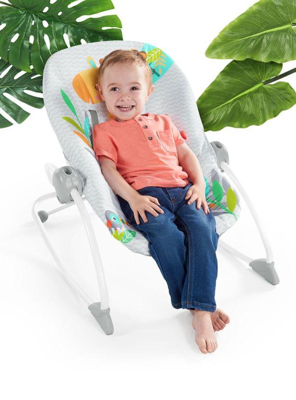 Ριλάξ Bright Starts Safari Blast Infant to Toddler Rocker™ 03