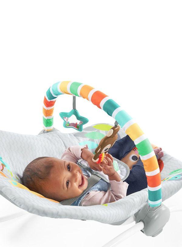Ριλάξ Bright Starts Safari Blast Infant to Toddler Rocker™ 04