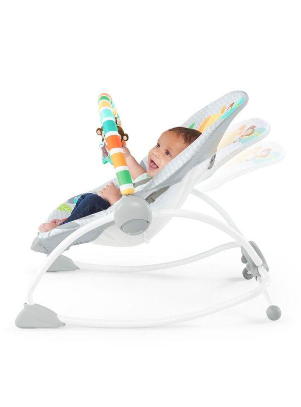 Ριλάξ Bright Starts Safari Blast Infant to Toddler Rocker™ 05