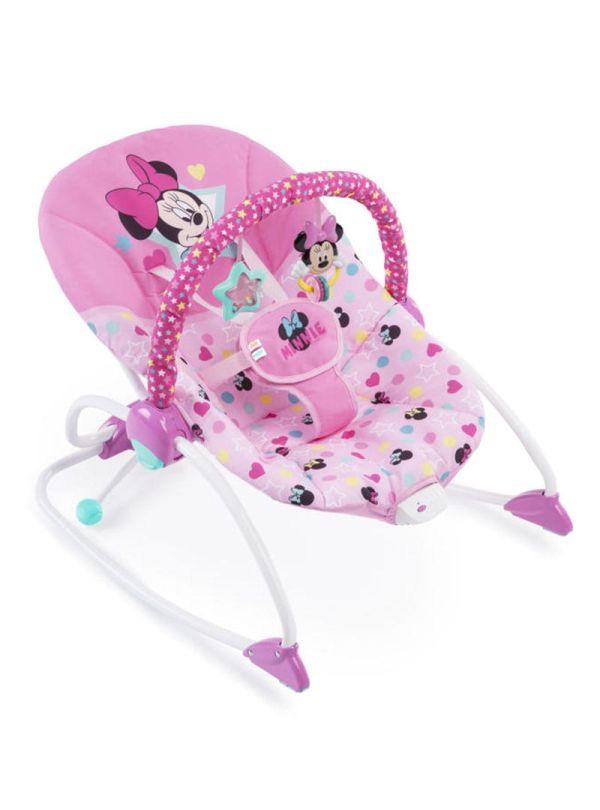 Pιλάξ Disney Baby Minnie Mouse Stars & Smiles Infant to Toddler Rocker™ 01