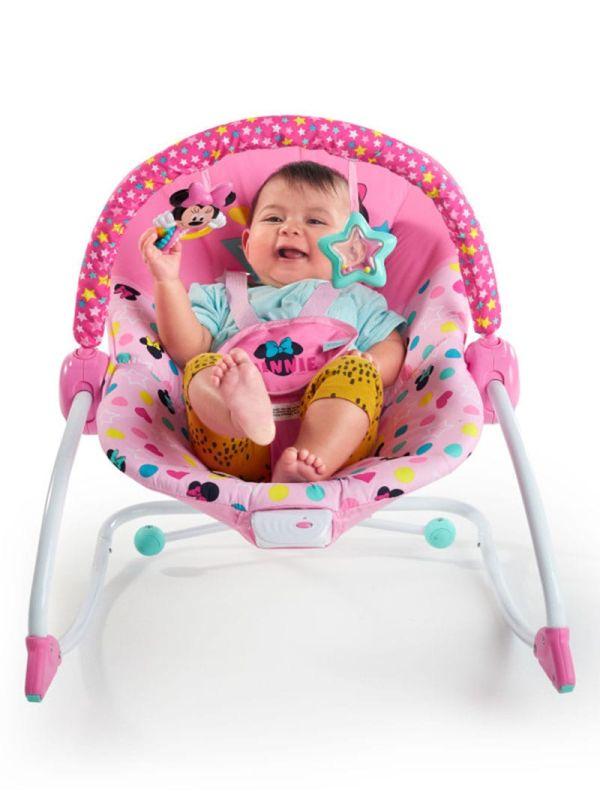 Pιλάξ Disney Baby Minnie Mouse Stars & Smiles Infant to Toddler Rocker™ 02