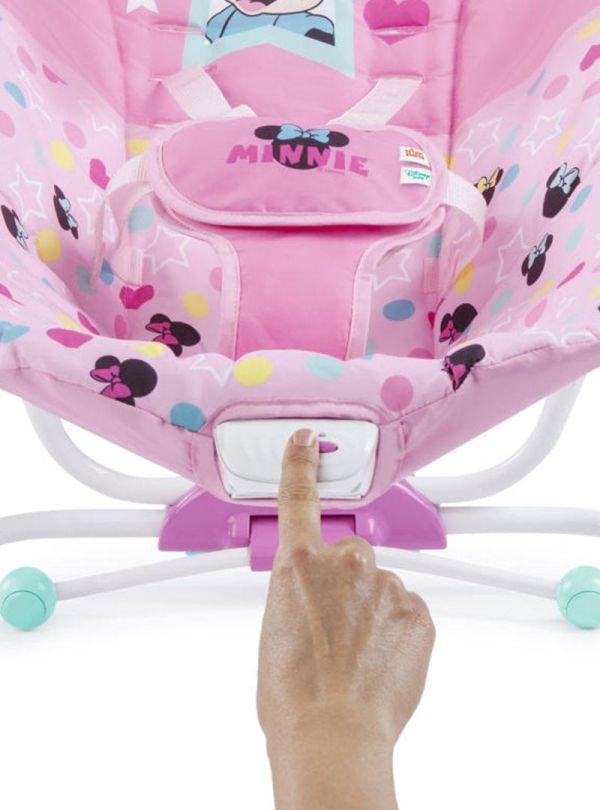 Pιλάξ Disney Baby Minnie Mouse Stars & Smiles Infant to Toddler Rocker™ 05