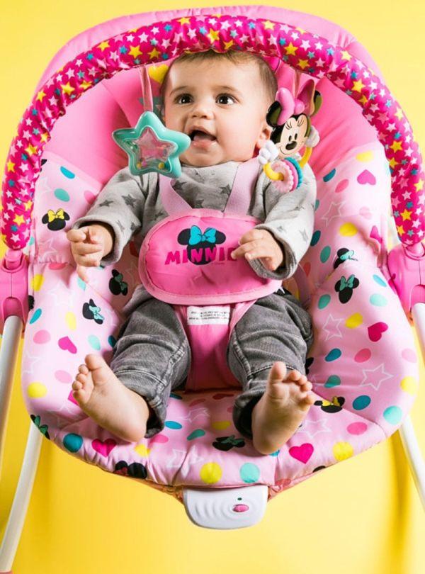 Pιλάξ Disney Baby Minnie Mouse Stars & Smiles Infant to Toddler Rocker™ 08