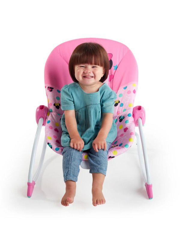 Pιλάξ Disney Baby Minnie Mouse Stars & Smiles Infant to Toddler Rocker™ 09