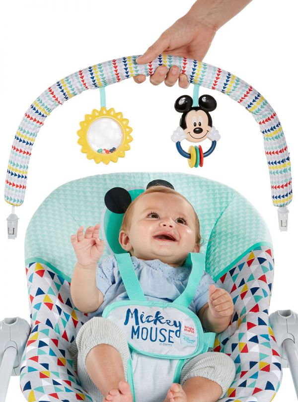 Pιλάξ Disney Baby Mickey Mouse Happy Triangles Infant to Toddler Rocker™ 05