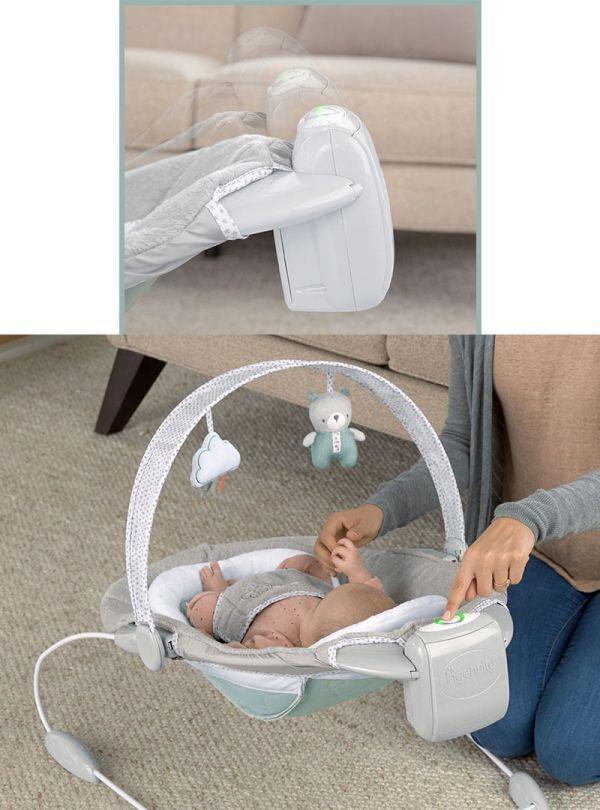 Ingenuity Ριλάξ DreamComfort™ SmartBounce Automatic Bouncer™ - Pemberton™ 05