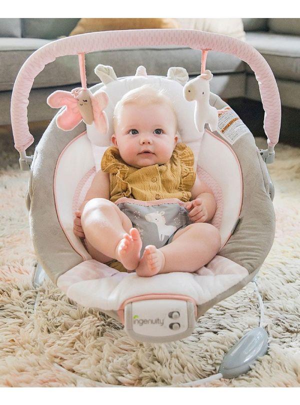 Ρηλάξ Ingenuity Cradling Bouncer Flora the Unicorn 02