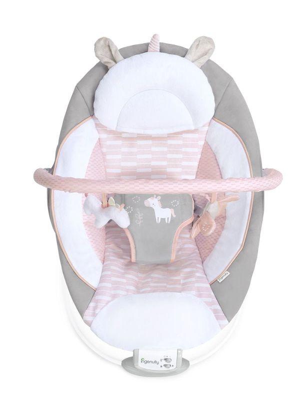 Ρηλάξ Ingenuity Cradling Bouncer Flora the Unicorn 03