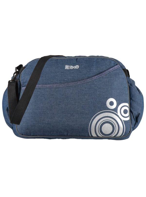 Kiddo Τσάντα Αλλαξιέρα Blue Jean