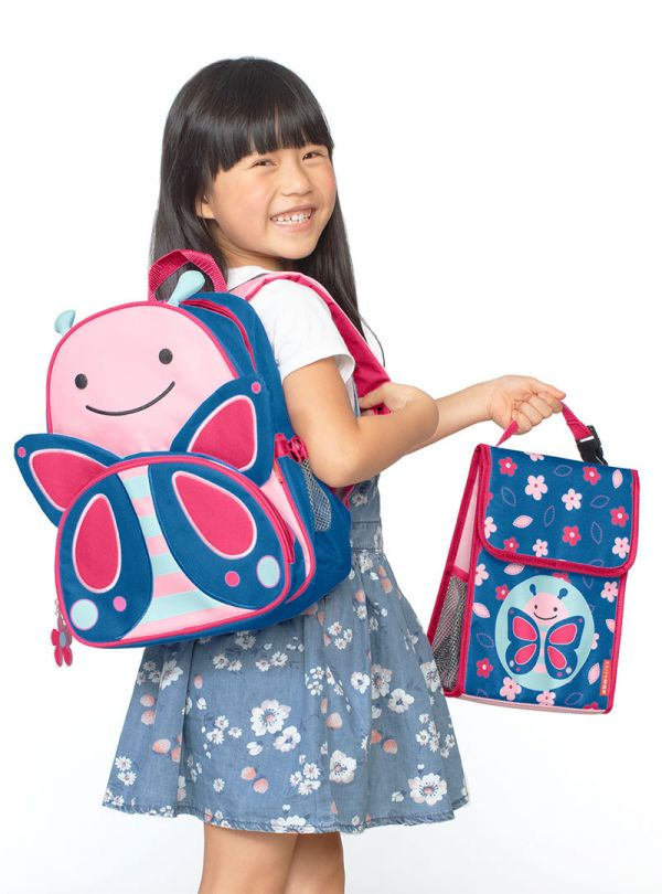 Skip Hop Zoo Παιδική Ισοθερμική Τσάντα Πεταλούδα 03