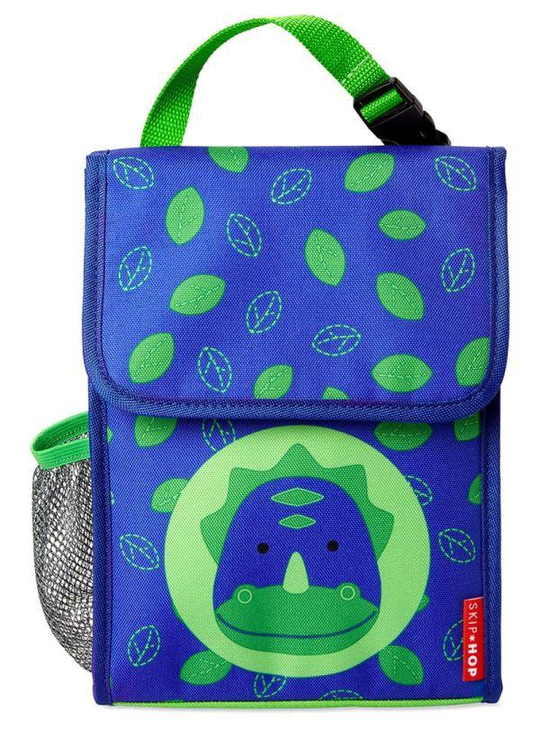 Skip Hop Zoo Παιδική Ισοθερμική Τσάντα Δεινόσαυρος 02